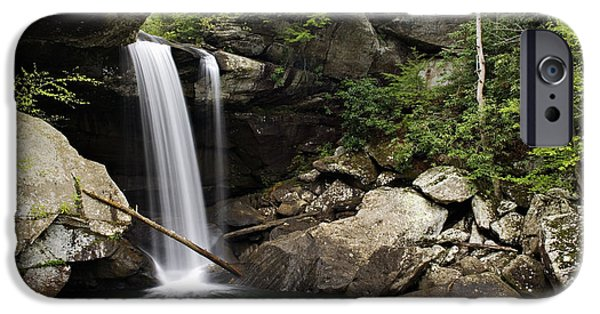 Overhang iPhone Cases - Eagle Falls - D002751 iPhone Case by Daniel Dempster