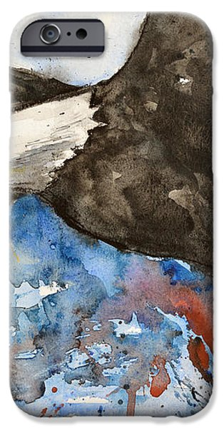 Eagle in Flight iPhone Case by Ismeta Gruenwald
