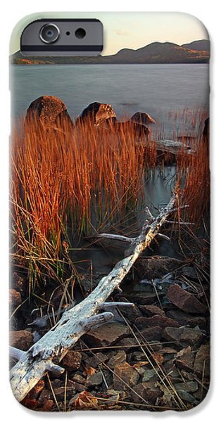 Eagle Lake at Autumn iPhone Case by Juergen Roth