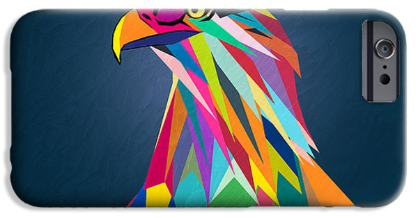 Recently Sold -  - Animation iPhone Cases - Eagle iPhone Case by Mark Ashkenazi