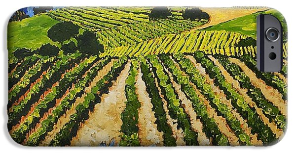 Decor iPhone Cases - Early Crop iPhone Case by Allan P Friedlander