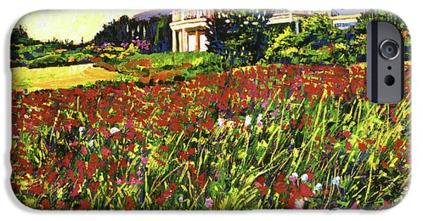 Garden iPhone Cases - Early Evening at Cape Cod iPhone Case by David Lloyd Glover