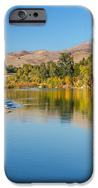 Early Fall On The Payette iPhone Case by Robert Bales