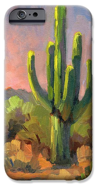 Sedona Arizona iPhone Cases - Early Light iPhone Case by Diane McClary