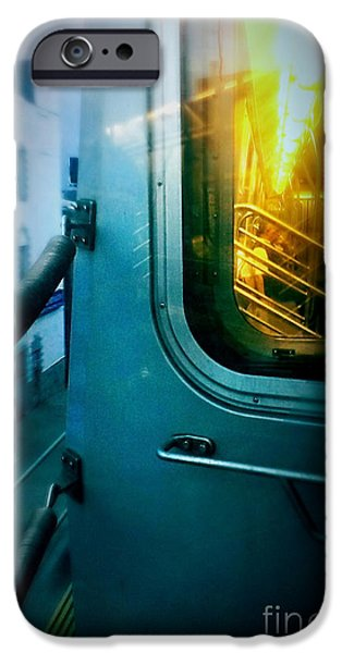 Machinery iPhone Cases - Early Morning Commute iPhone Case by James Aiken