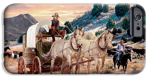 Temecula iPhone Cases - Early Morning Drive iPhone Case by Ronald Chambers