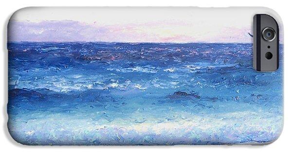 Ocean Art. Beach Decor iPhone Cases - Early Morning Flight iPhone Case by Jan Matson