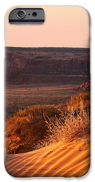Early morning in Monument Valley iPhone Case by Jane Rix