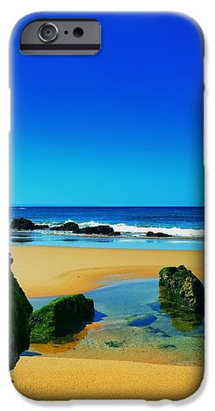 Early Morning On The Beach II iPhone Case by Marco Oliveira