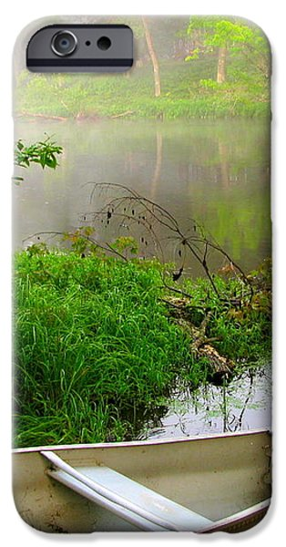 Early Morning Paddle iPhone Case by Jody Partin