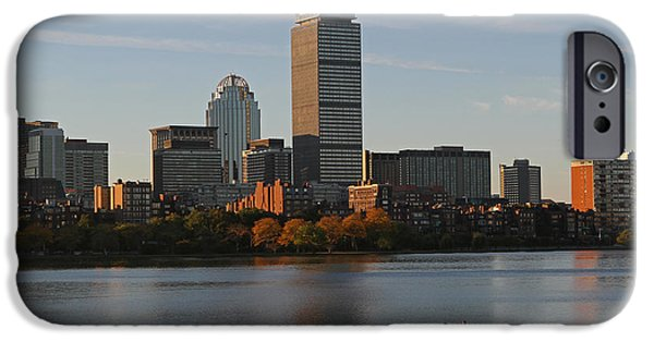 Charles River iPhone Cases - Early Morning Preparation for the Head of the Charles  iPhone Case by Juergen Roth