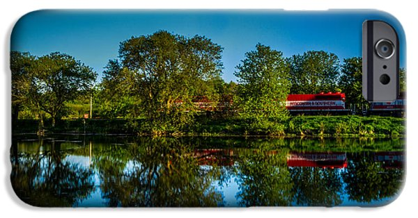 Feed Mill Photographs iPhone Cases - Early Morning Rest Stop iPhone Case by Randy Scherkenbach