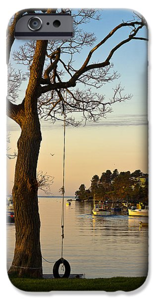 Bailey Island iPhone Cases - Early One Morning iPhone Case by Benjamin Williamson