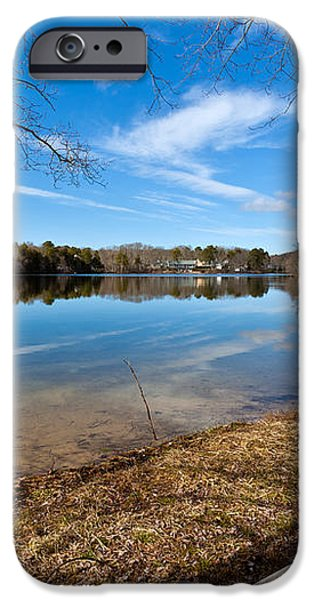 Early Spring on Long Pond iPhone Case by Michelle Wiarda