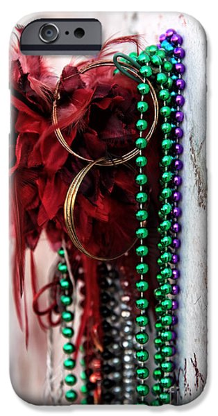 Earrings for Marie iPhone Case by John Rizzuto