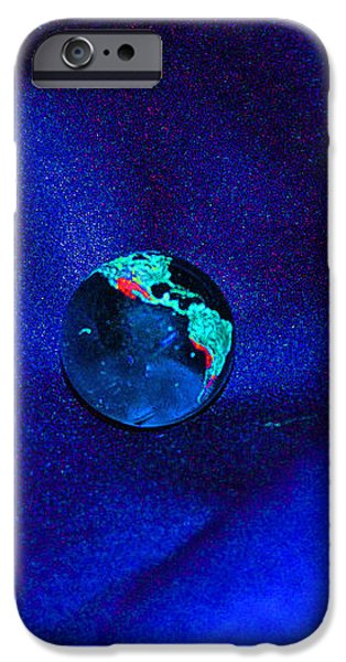Earth Alone iPhone Case by First Star Art