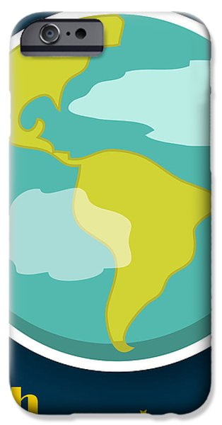 Earth iPhone Case by Christy Beckwith