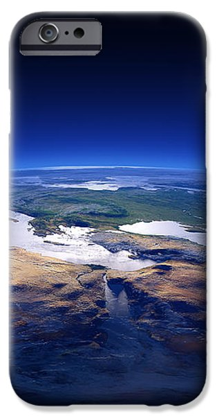 Earth - Mediterranean Countries iPhone Case by Johan Swanepoel