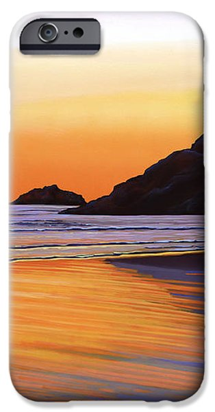 Earth Sunrise Sea iPhone Case by Paul  Meijering
