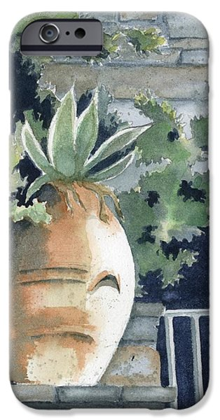 Pottery Paintings iPhone Cases - Earthenware iPhone Case by Marsha Elliott