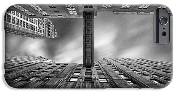 Built Structure iPhone Cases - East 24th iPhone Case by John Farnan