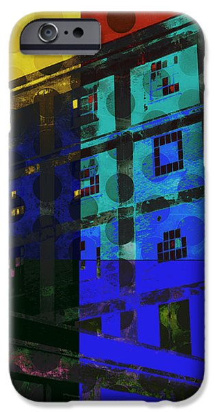 Photo Collage iPhone Cases - East Central Avenue iPhone Case by Ann Powell
