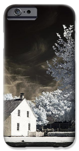 East Jersey Olde Towne Village iPhone Case by John Rizzuto