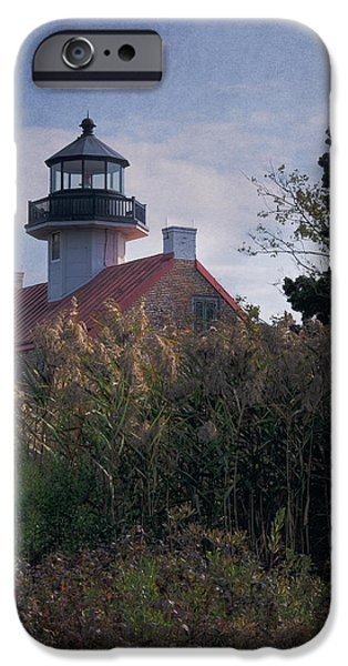 Lighthouse iPhone Cases - East Point Lighthouse iPhone Case by Joan Carroll