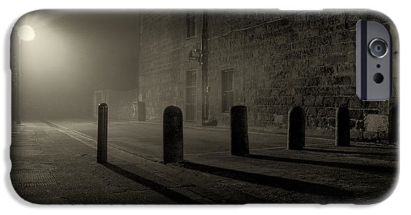Eerie iPhone Cases - East Scotland Street Lane iPhone Case by Scott Jessiman