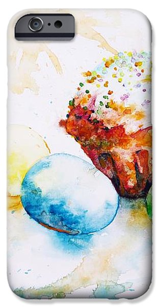Easter Colors iPhone Case by Zaira Dzhaubaeva