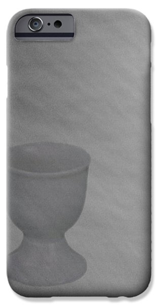 Easter Eggcup iPhone Case by Sarah Vernon