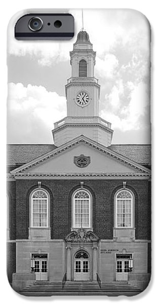 Eastern Kentucky University Keen Johnson Building iPhone Case by University Icons