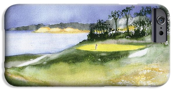 Chatham Paintings iPhone Cases - Eastward Ho Country Club iPhone Case by Joseph Gallant