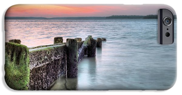 Hobart iPhone Cases - Eatons Neck iPhone Case by JC Findley