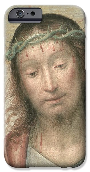 Renaissance iPhone Cases - Ecce Homo iPhone Case by Fra Bartolommeo