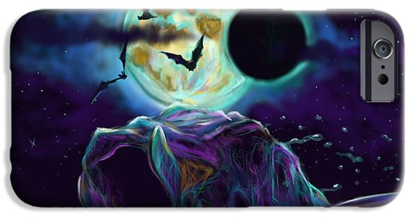 Redfish iPhone Cases - Eclipse Rush  iPhone Case by Yusniel Santos