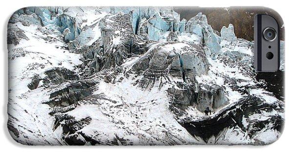 Chimborazo iPhone Cases - Ecuador COTOPAXI iPhone Case by Ricardo Nishimura