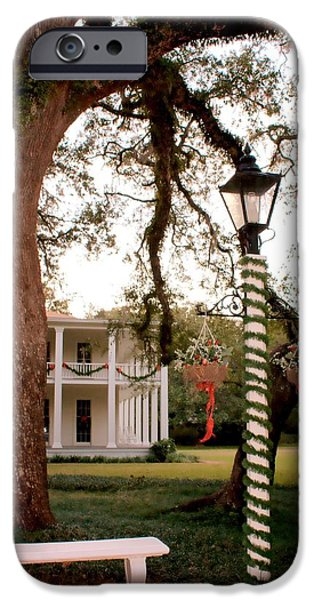Restored Plantation iPhone Cases - Eden State Park iPhone Case by Debra Forand