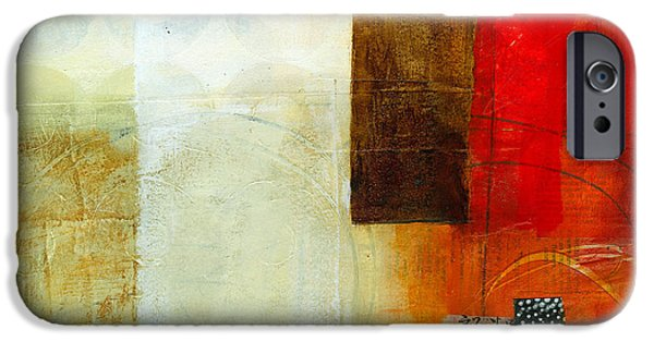 Abstract Collage iPhone Cases - Edge Location 10 iPhone Case by Jane Davies