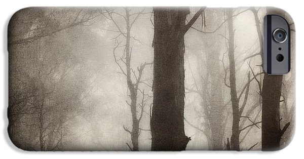 Fog iPhone Cases - Edge of Eternity iPhone Case by Amy Weiss