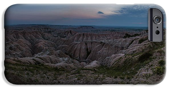 Badlands iPhone Cases - Edge of the World iPhone Case by Aaron J Groen