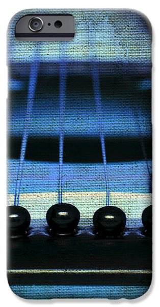 Edgy Abstract Eclectic Guitar 17 iPhone Case by Andee Design