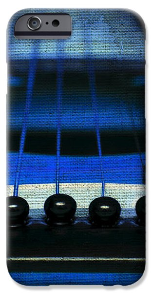 Edgy Abstract Eclectic Guitar 18 iPhone Case by Andee Design