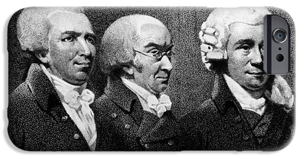 1801 iPhone Cases - Edward Bancroft (1744-1821) iPhone Case by Granger