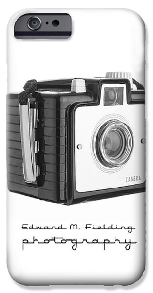 Brownie iPhone Cases - Edward M. Fielding Photography iPhone Case by Edward Fielding