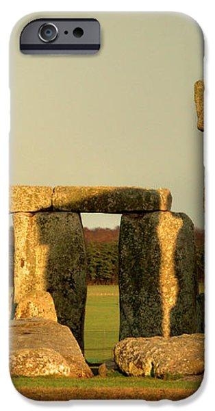 Eerie Stonehenge 4 iPhone Case by Deborah Smolinske