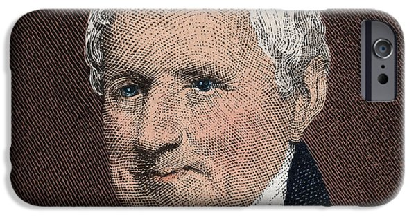 Patriots iPhone Cases - Egbert Benson, American Patriot iPhone Case by Photo Researchers