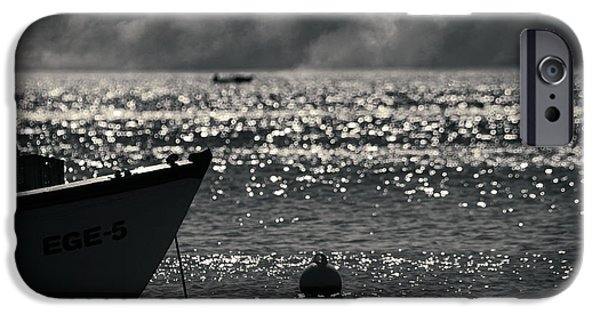 Ocean Of Emptiness iPhone Cases - Ege iPhone Case by Taylan Soyturk
