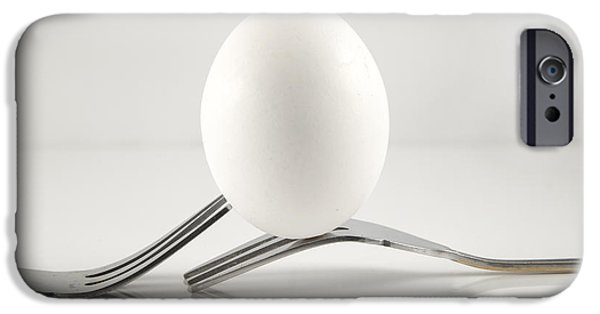 Balance iPhone Cases - Egg iPhone Case by Juli Scalzi