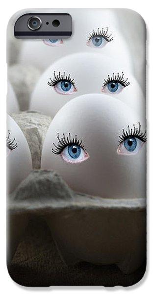 Eggs iPhone Case by Juli Scalzi